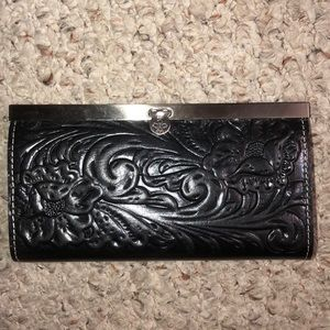 Patricia Nash leather tooled wallet